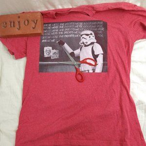 Star Wars Storm Trooper Droid Punishment Graphic